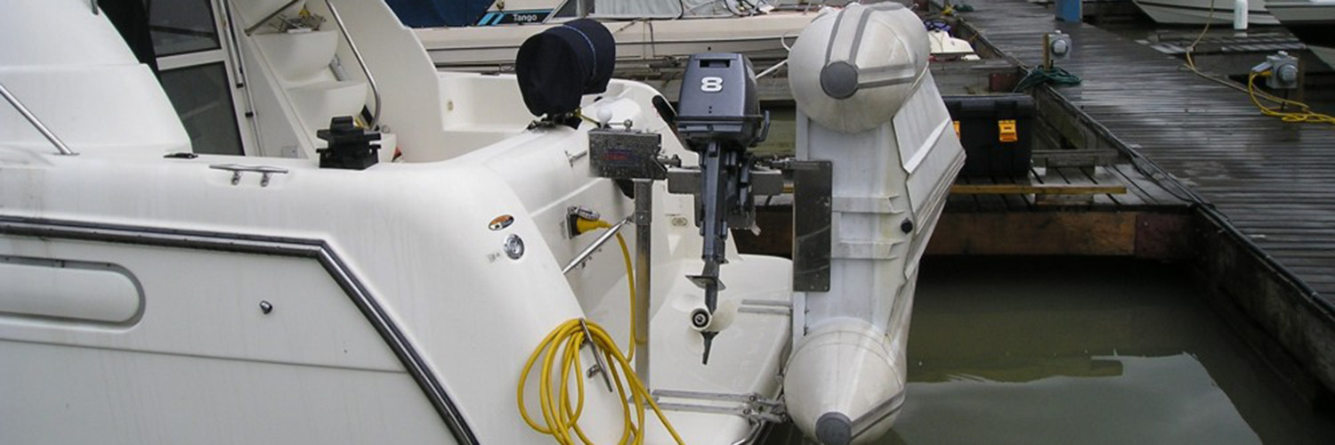 TENDER DAVITS WAYPOINT MARINE GROUP
