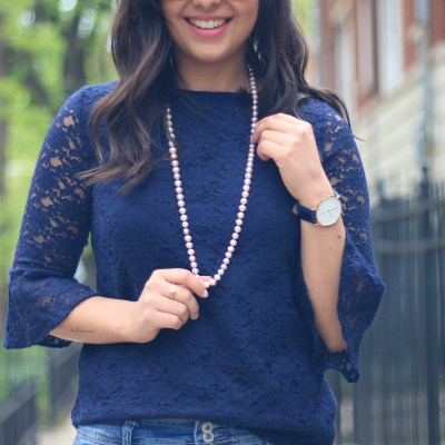 How to wear pearls casually
