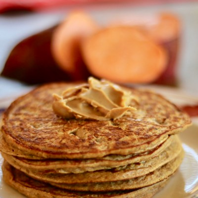 GOOD FOR YOU SWEET POTATO PANCAKES