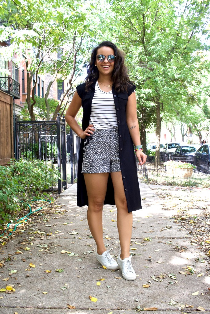 How to style a button down dress that doesn't fit