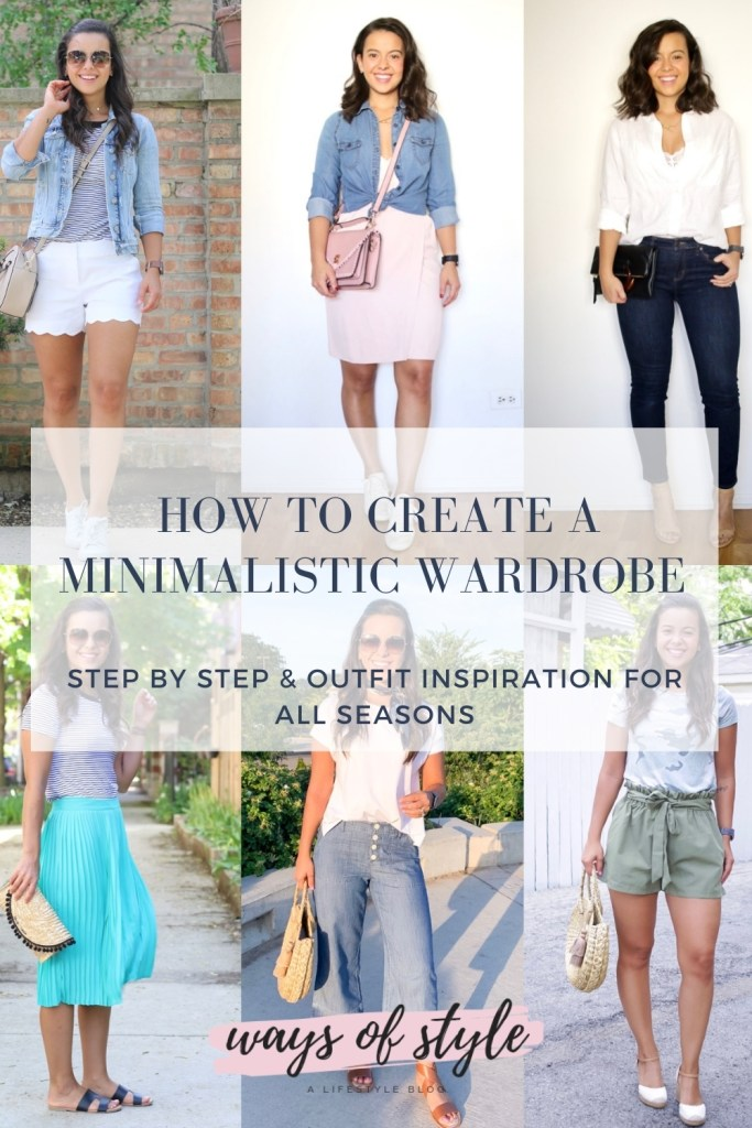 How to create a minimalistic wardrobe that works for all seasons