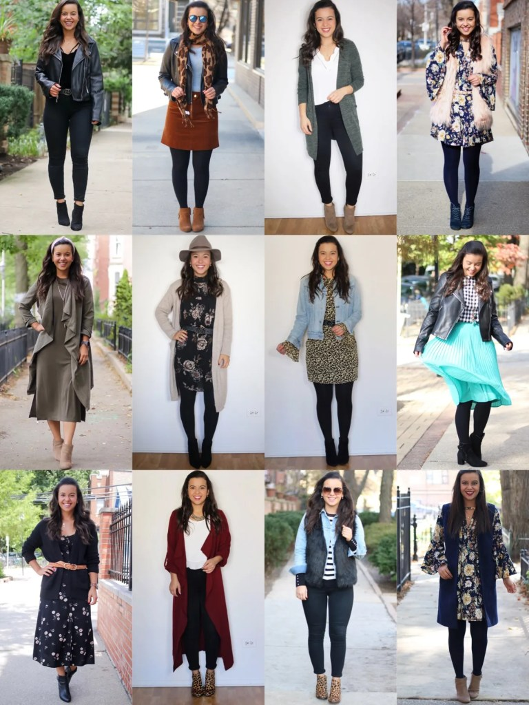 12 outfits you can wear for the office for Fall