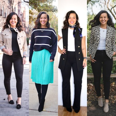 4 outfit ideas for the office