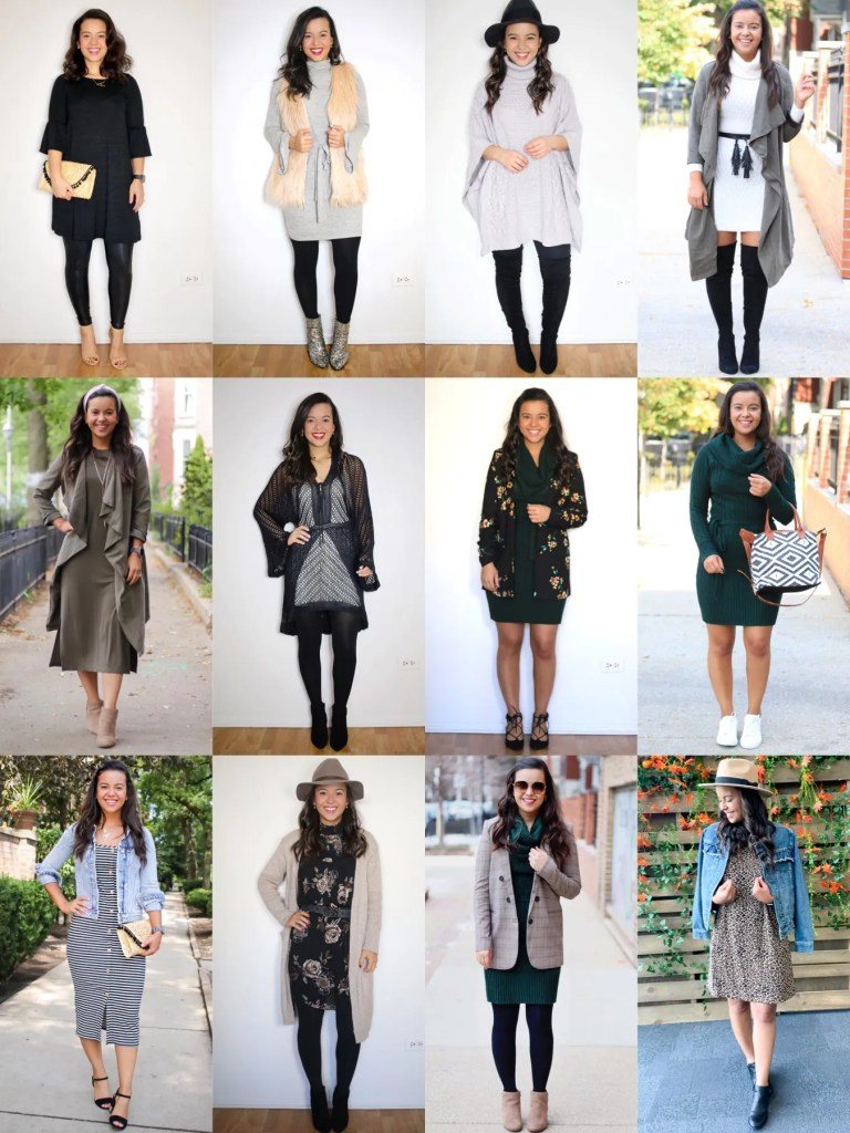 12 sweater dress outfits for any occasion