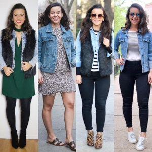 4 Outfits with a jean jacket for 2021