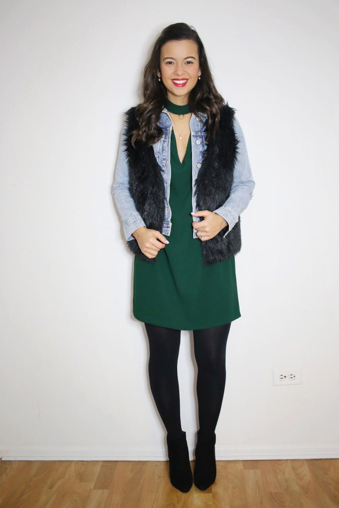 winter date night outfit