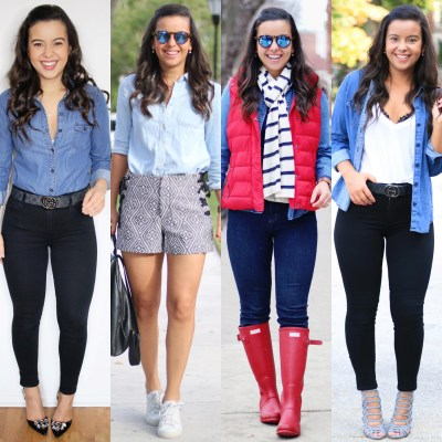 How to wear a denim shirt cover photo