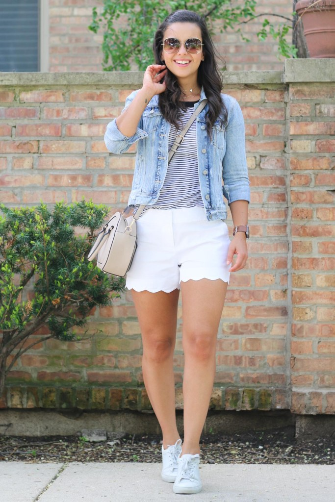 Outfits with a jean jacket for women