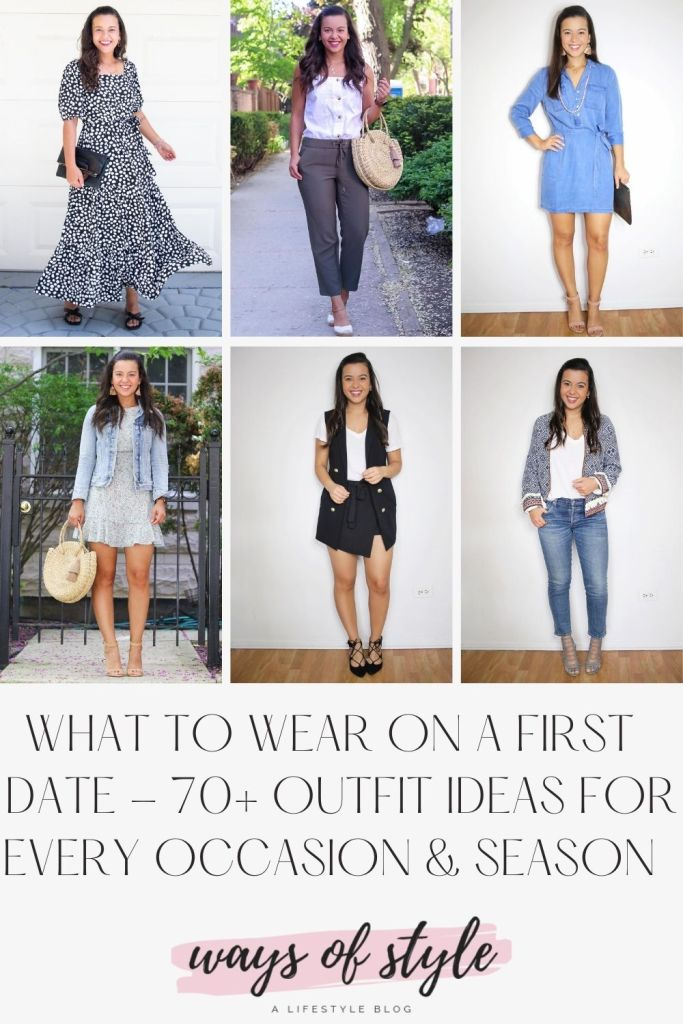 What to wear on a first date Pinterest Pin