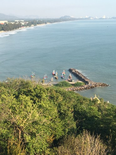 Hua Hin - view from a temple