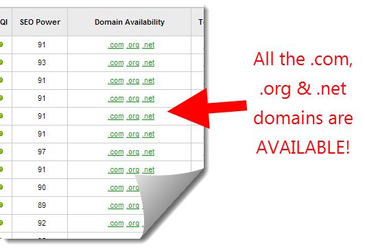 Find awesome domains, fact with Jaaxy Enterprise