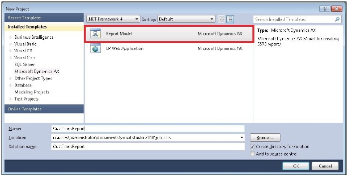 Developing a Simple SSRS Report in Visual Studio (3/6)
