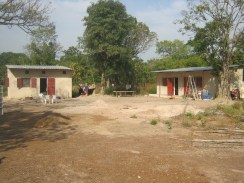 The compound where we lived in Senegal