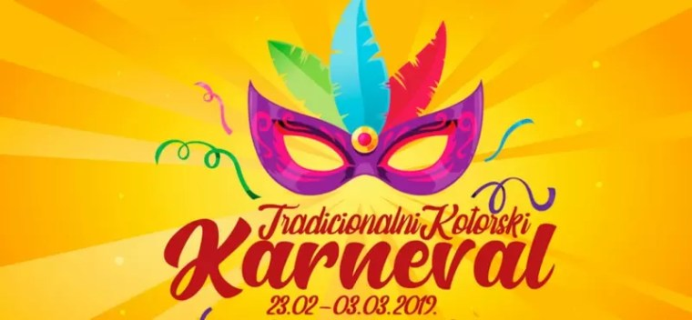 Traditional winter Kotor Carnival 2019