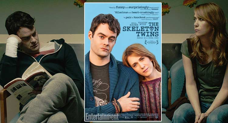 First Look at The Skeleton Twins Movie Poster