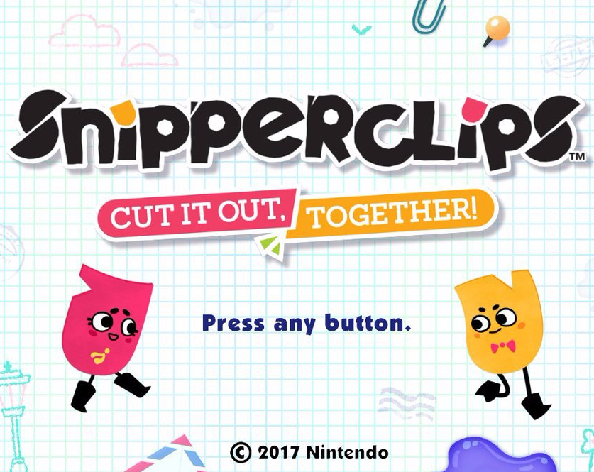 Review - Snipperclips (Switch)
