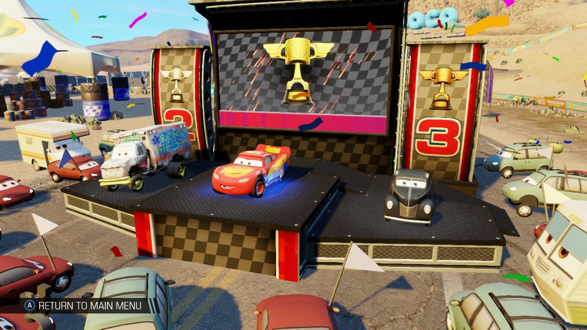 Review - Cars 3: Driven to Win (Switch)