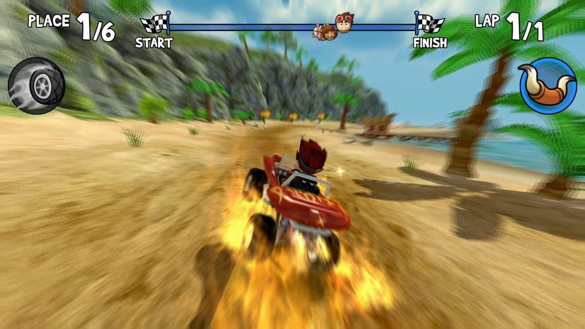 Review - Beach Buggy Racing (Switch)