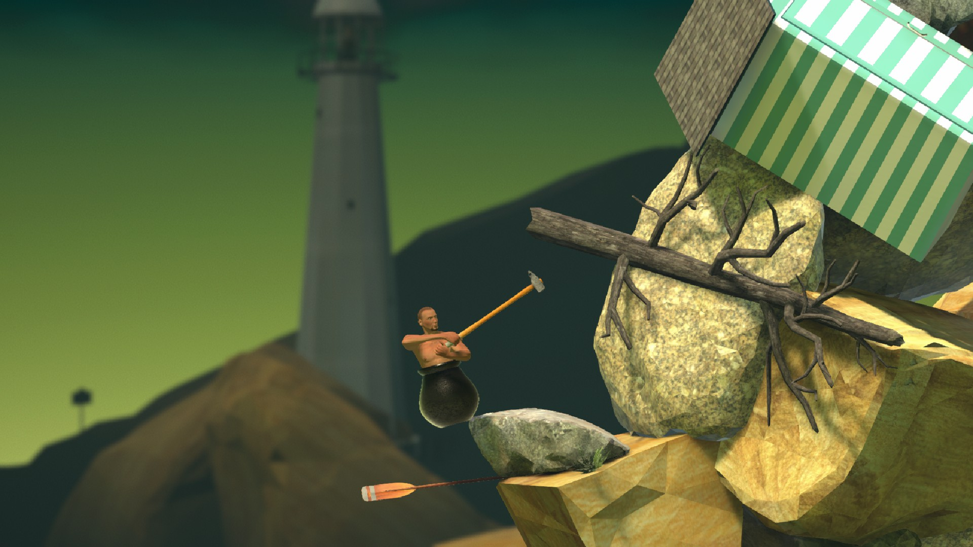 Review - Getting Over It With Bennett Foddy (PC)