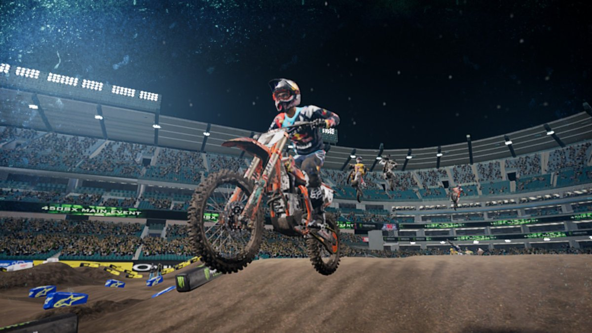 Review - Monster Energy Supercross: The Official Videogame (Switch)
