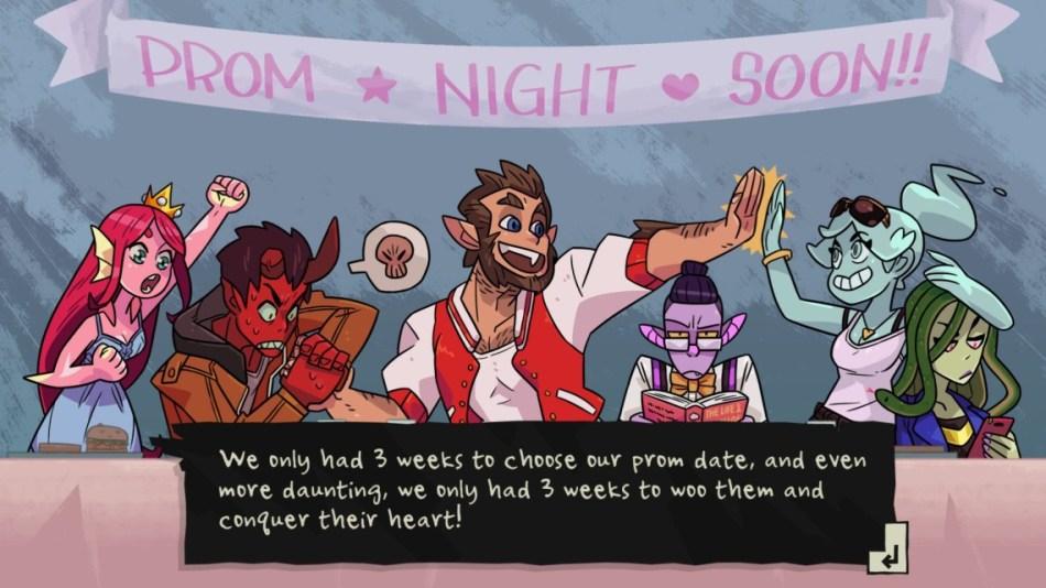 monster prom stock photo