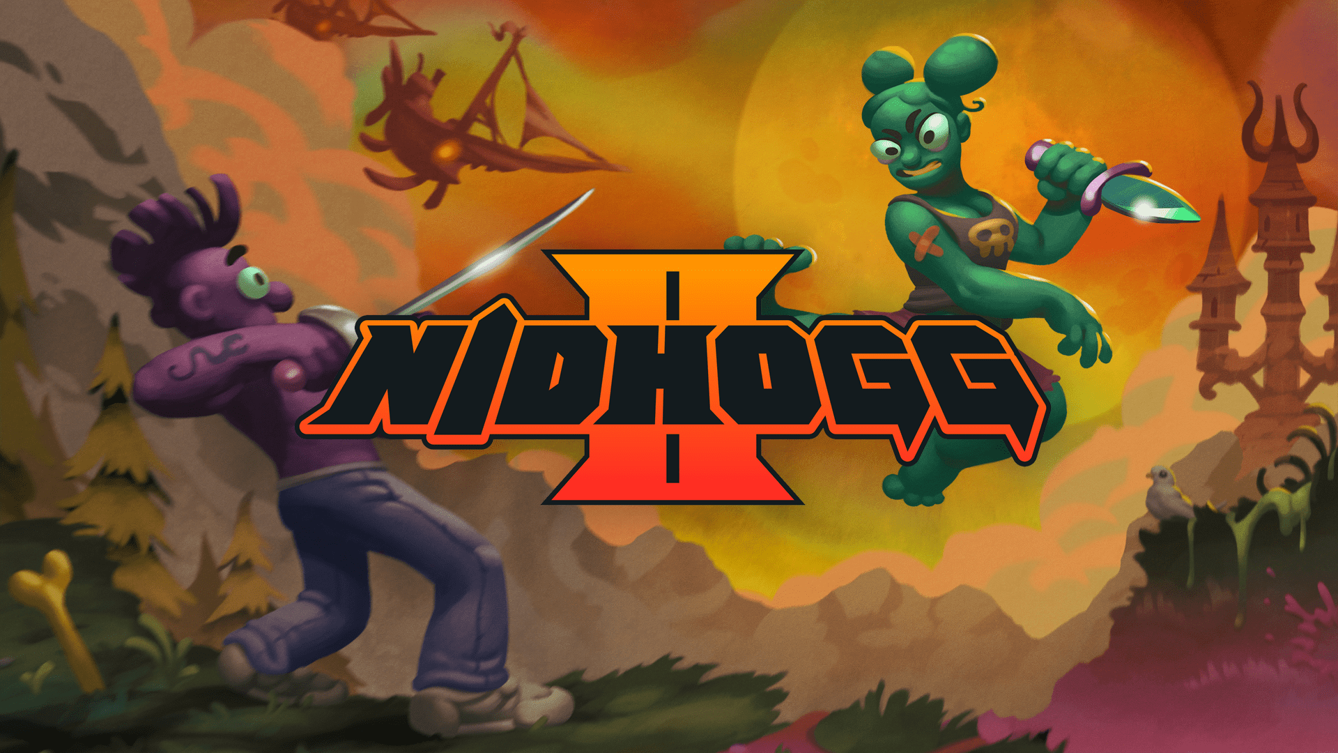 Review - Nidhogg 2 (Xbox One)