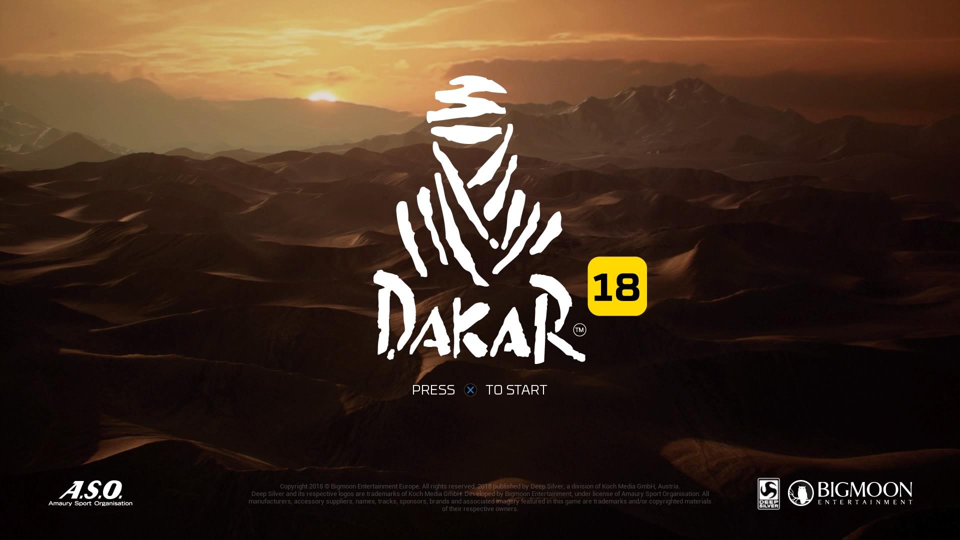 Review - Dakar 18 (PS4)