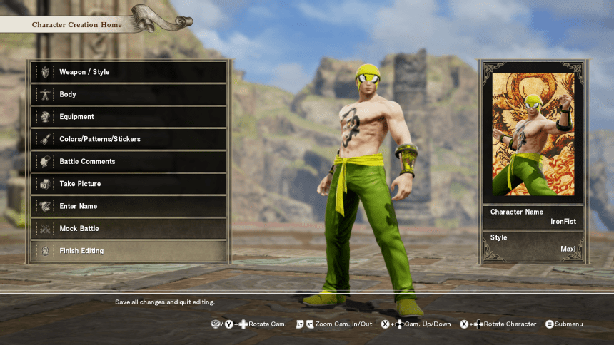 Having Fun With Soul Calibur VI's Character Creator - WayTooManyGames