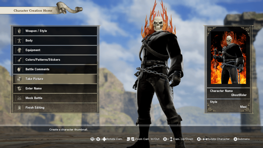 Having Even More Fun With Soul Calibur VI's Character Creator