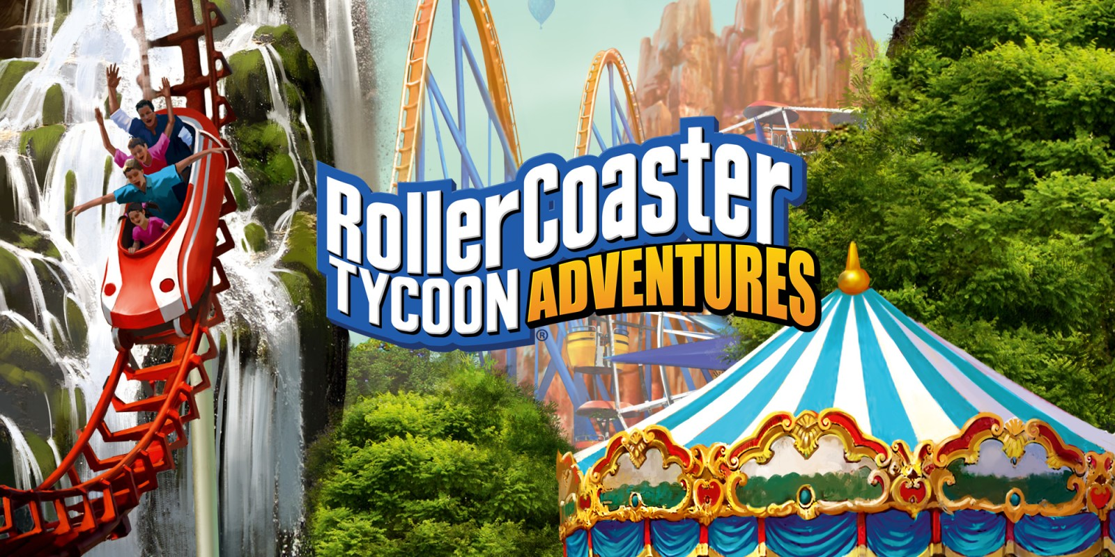 Review - RollerCoaster Tycoon Adventures (Switch)
