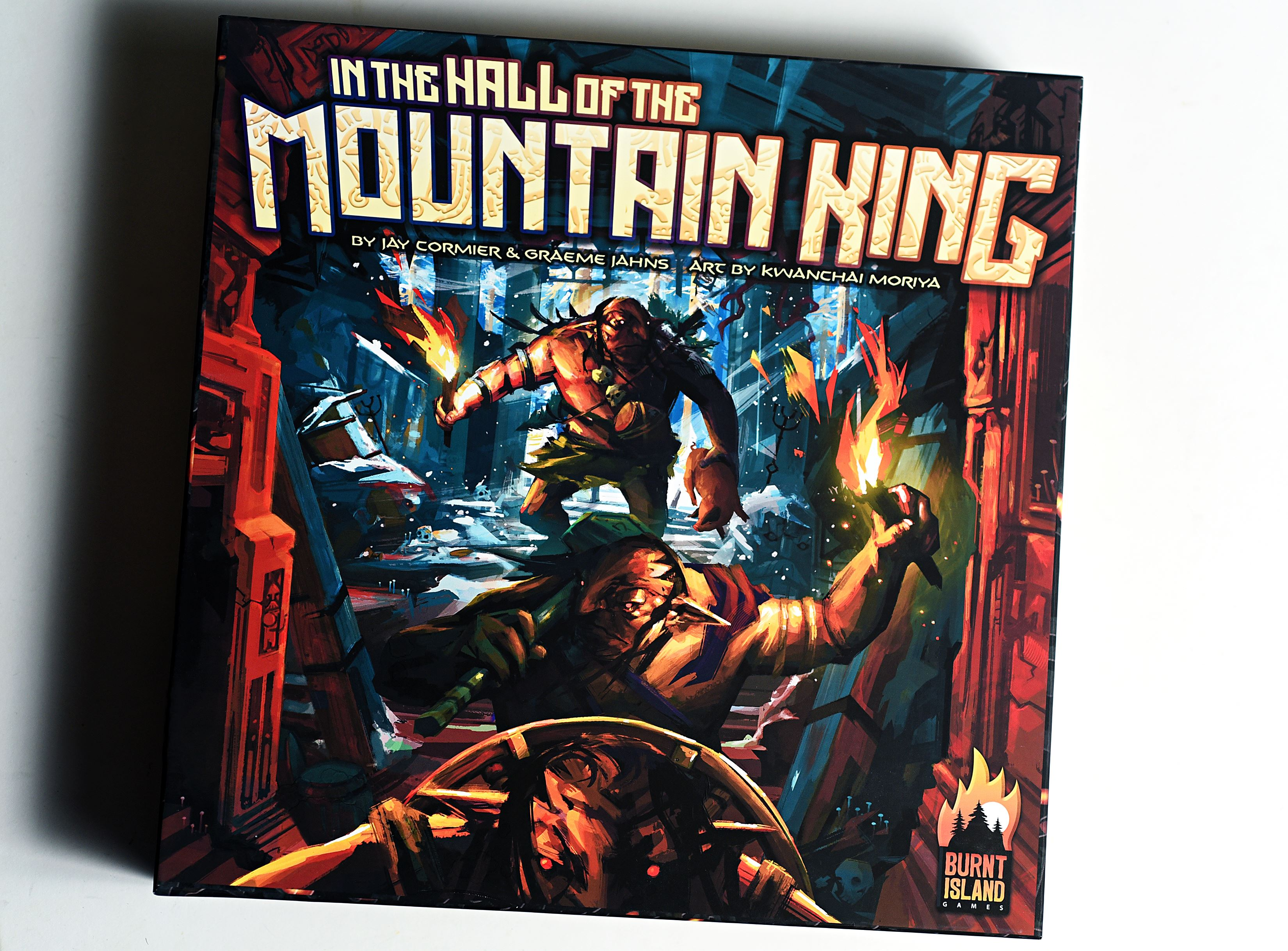 Interview with In the Hall of the Mountain King Designers.