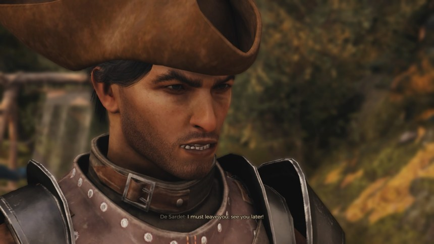 GreedFall Personal Character