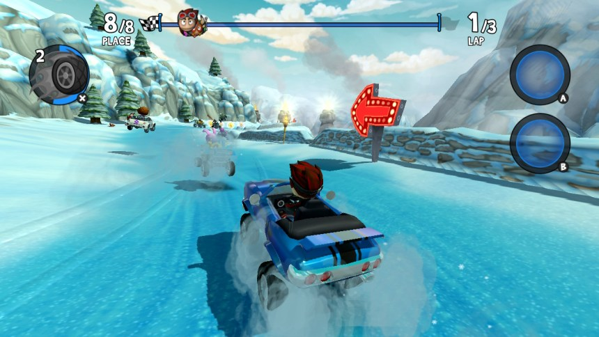 Beach Buggy Racing 2 Snow Track