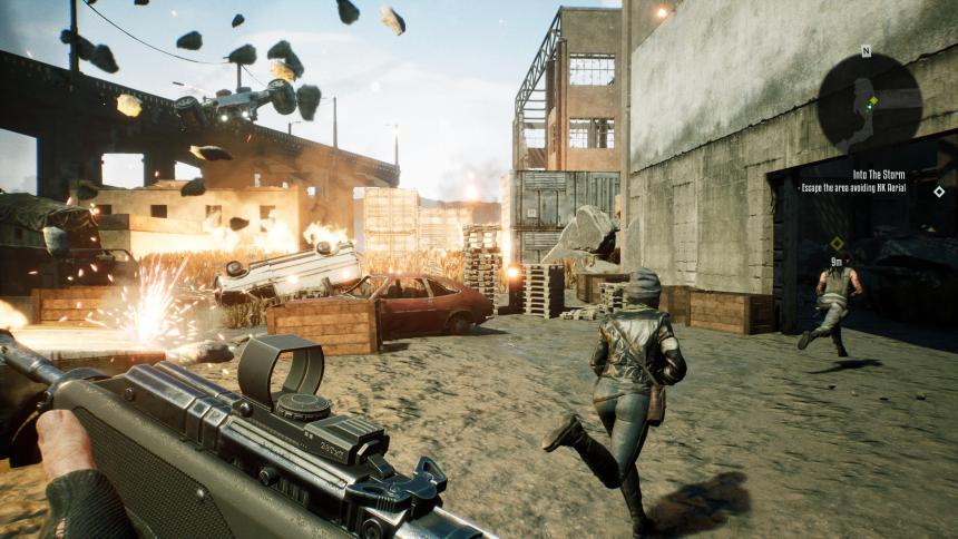 Terminator: Resistance Escape