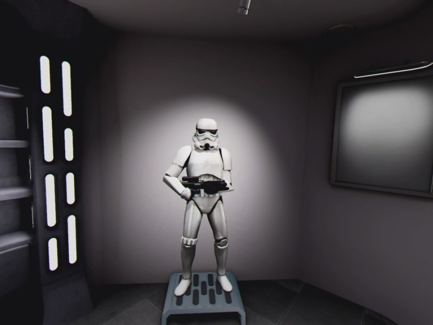 Star Wars Pinball VR Stormtrooper