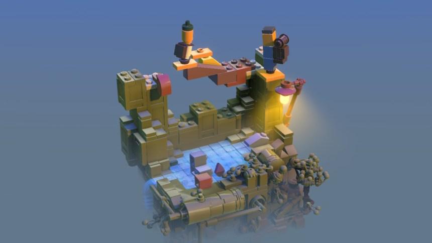 Lego Builder's Journey Diorama