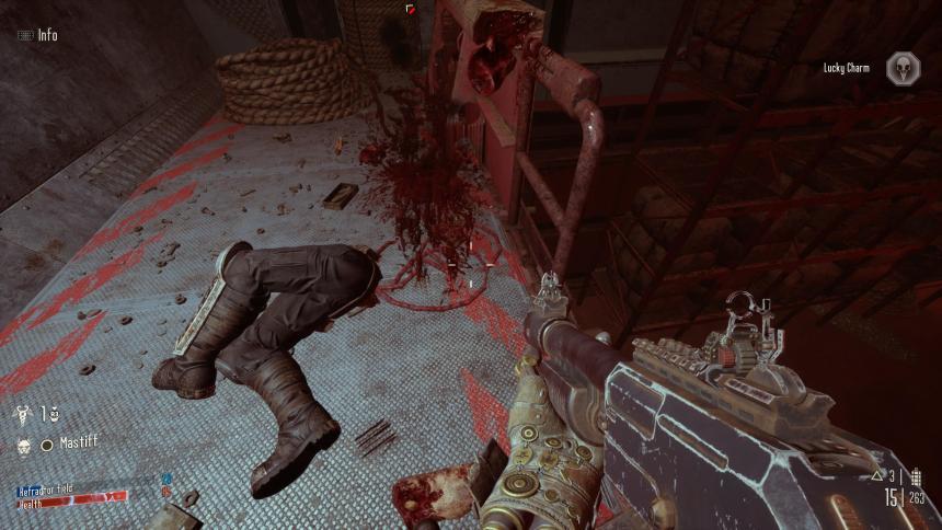 Necromunda Hired Gun Blood and Gore