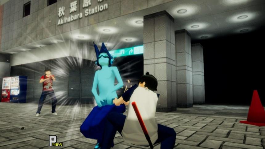 Akiba's Trip Blue Man
