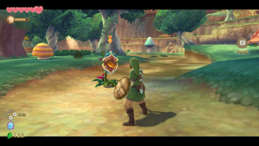 Skyward Sword HD Graphics
