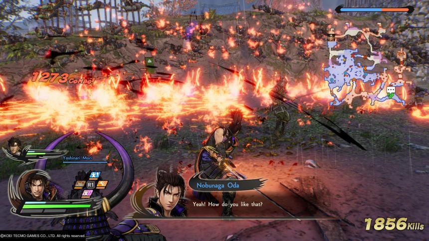Samurai Warriors 5 Nobunaga