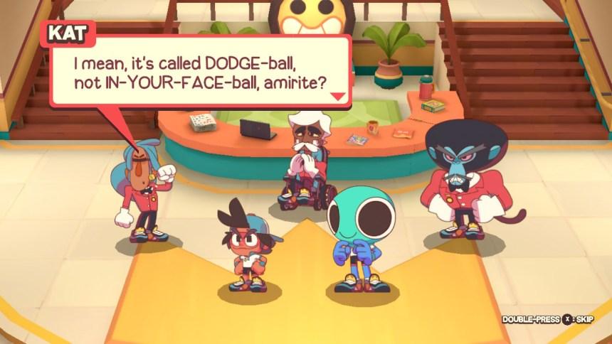 Dodgeball Academia Kat