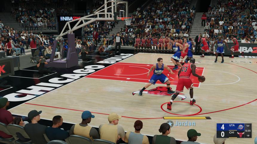 Chicago Bulls Court