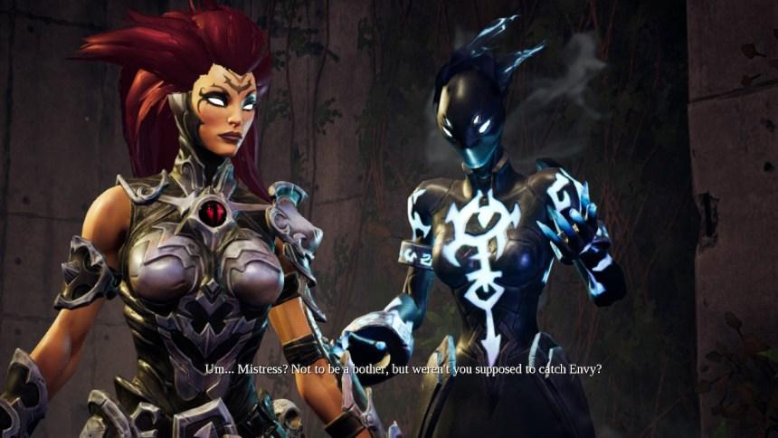 Darksiders III Dialogue