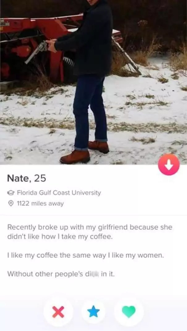 Funny Male Tinder Bios : funny, tinder, Funny, Tinder, Swipe, Right