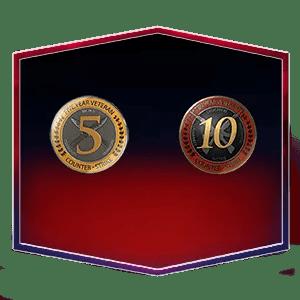 5 Year Veteran Coin Account