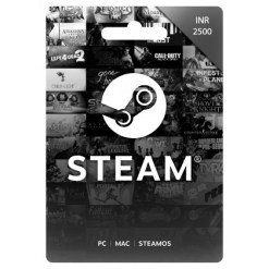 2500 INR Steam Wallet Code | Buy 2500 INR Steam Wallet Code