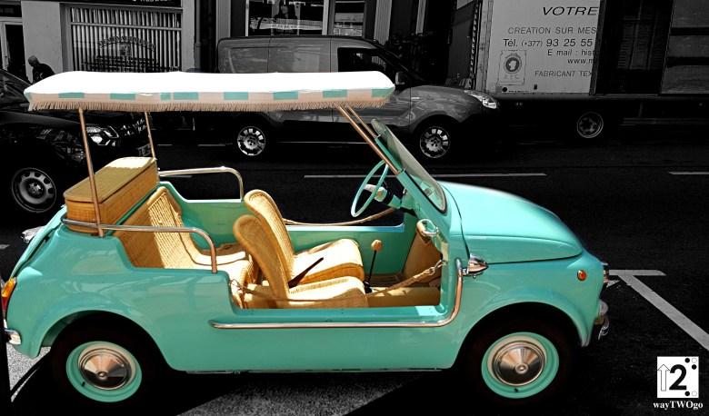 Monaco cute car