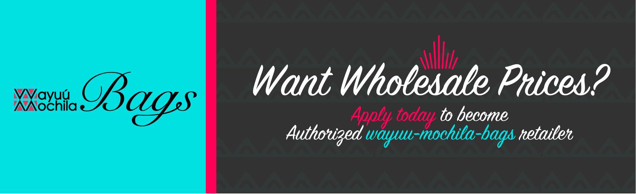 Bags 01 Worldwide Online ⋆1 Official Wayuu Wholesale Mochila 0Pn8wOk