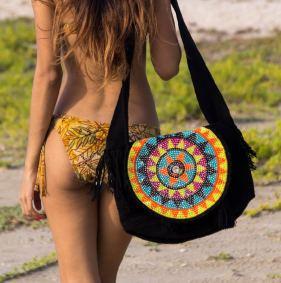 jewled wayuu bag