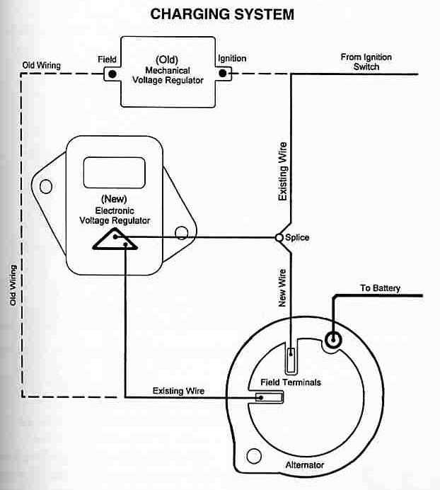 mopar charging wiring diagram